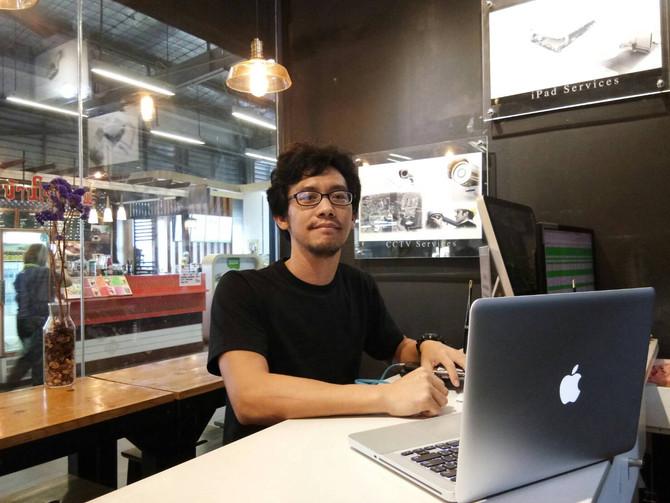 ลูกค้าเจ้าของเครื่อง Macbook Pro มาเปลี่ยนฮาร์ดดิสก์