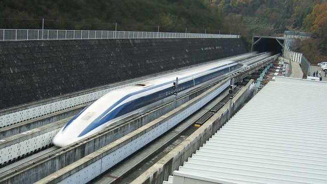 รถไฟแม็กเลฟของญี่ปุ่น เร็วแรงแซงสถิติโลกที่ 603 กิโลเมตรต่อชั่วโมง