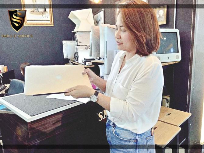 รวมภาพลูกค้า MacBook Pro มาใช้บริการติดตั้ง Software กับทางร้าน