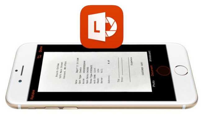"Microsoft เปิดตัวแอพฯ ""Office Lens"" ให้ใช้งานทั้งบน iOS และ Android"