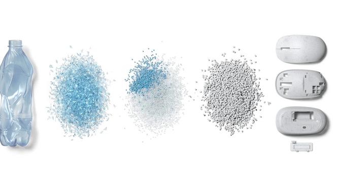 Microsoft เปิดตัว Ocean Plastic Mouse เมาส์ผสมขยะพลาสติกจากทะเล