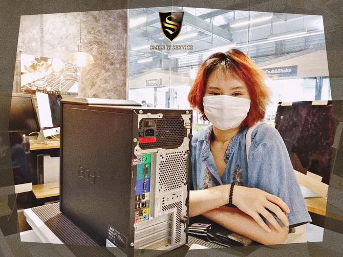 รวมภาพลูกค้า PC มาใช้บริการล้างเครื่อง กับทางร้าน