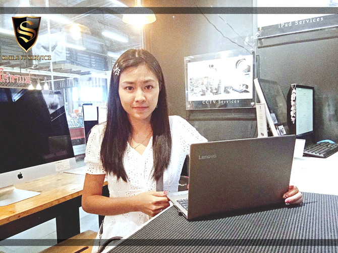 รวมภาพลูกค้า Notebook มาใช้บริการติดตั้ง Software กับทางร้าน
