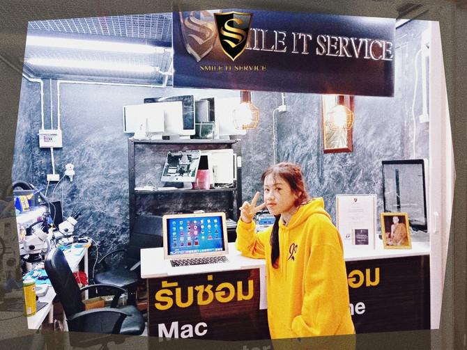 รวมภาพลูกค้า MacBook Air มาใช้บริการงาน Software กับทางร้าน