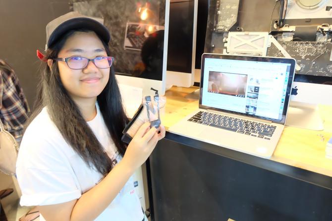 ลูกค้าเจ้าของเครื่อง Macbook Pro มาเปลี่ยนลำโพง