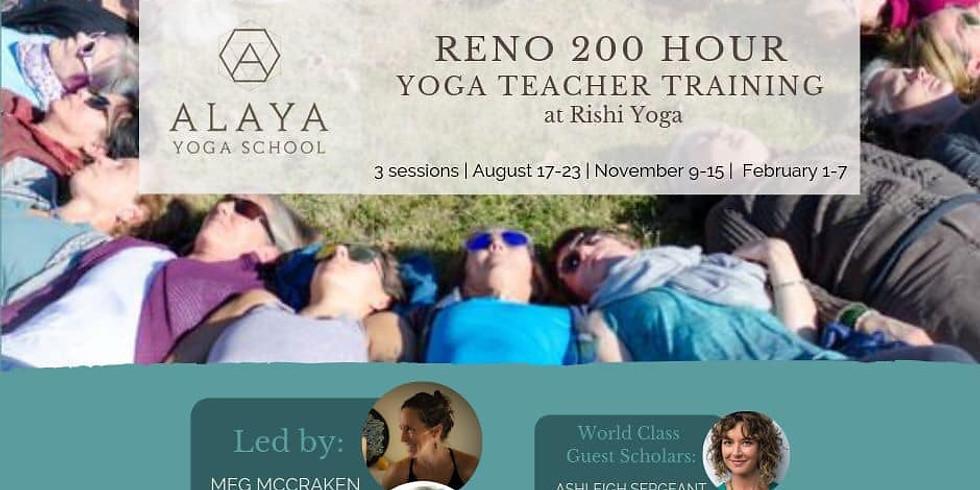 Alaya 200 Hour YTT Information Night & Class