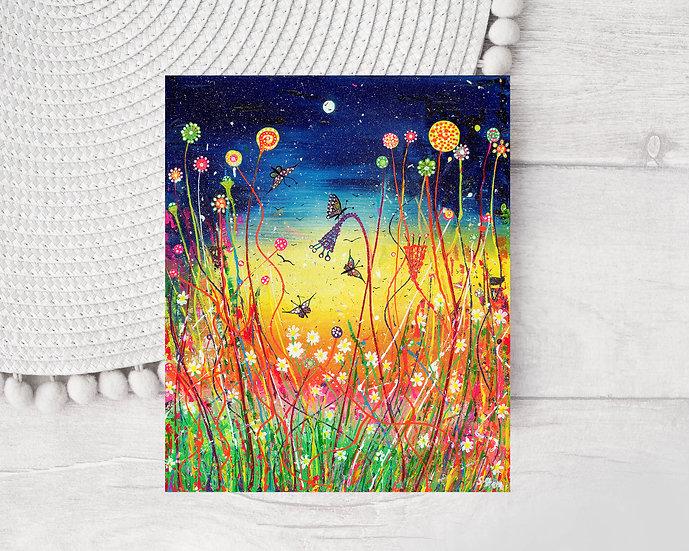 Lollipop Meadow Greeting Card