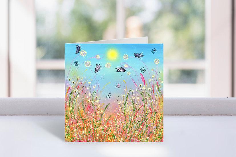 Summer Joy Greeting Card