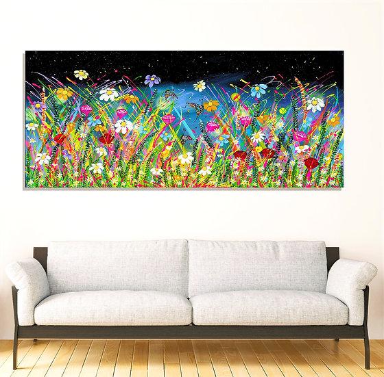 Field of Joy Canvas Print