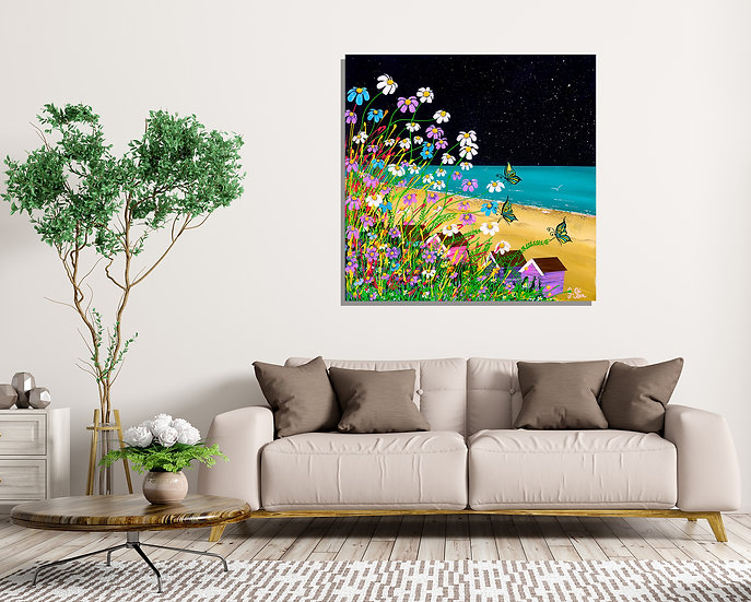 The Look Out Canvas Print