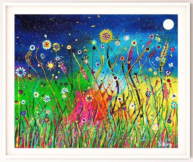 Rainbow Meadow Giclée Print