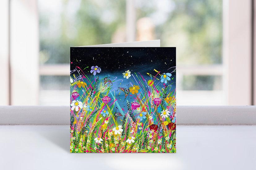 Field of Joy Greeting Card