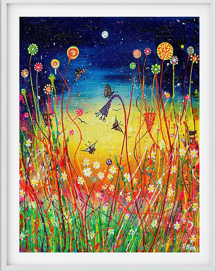 Lollipop Meadow  Giclée Print