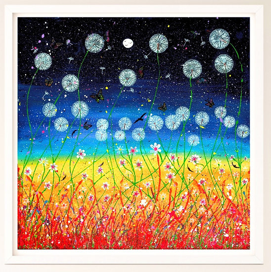 Dandelion Meadow Giclée Print
