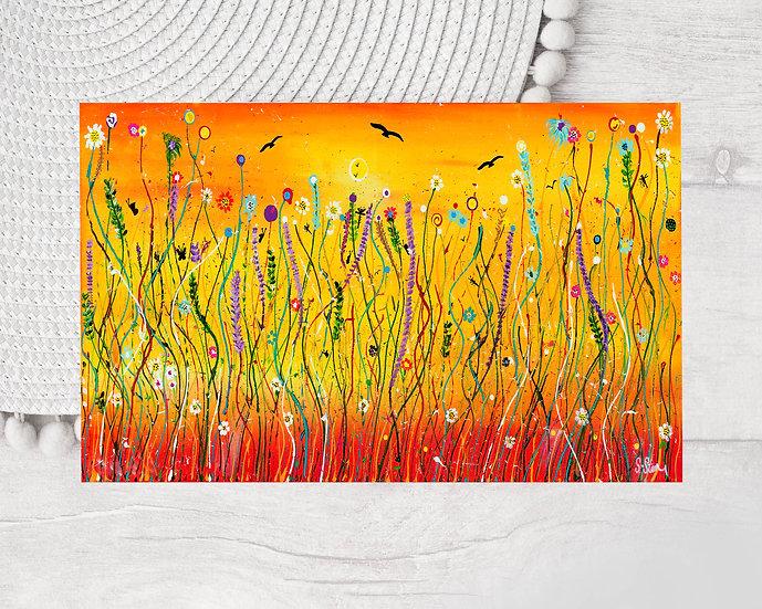 Meadow Harvest Greeting Card