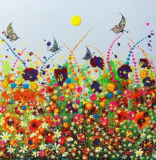 Dancing Flowers  (Sold)