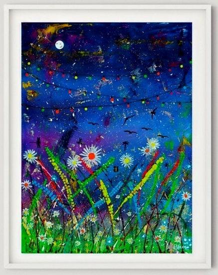 Midnight On The Meadow Giclée Print