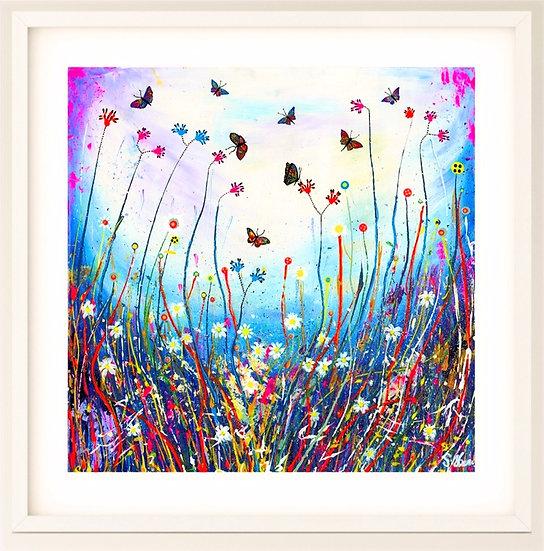 Butterfly Swirl Giclée Print