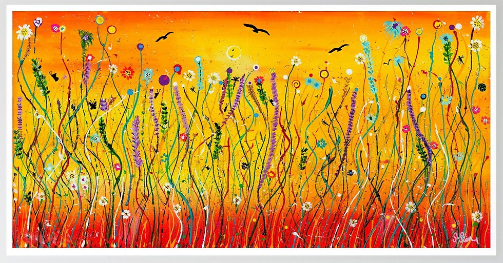 Meadow Harvest  Giclée Print