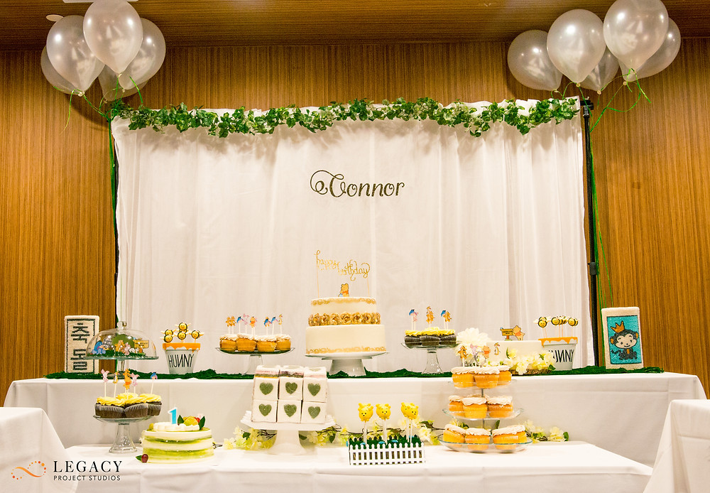The Dol Sahng - 1st Birthday Table