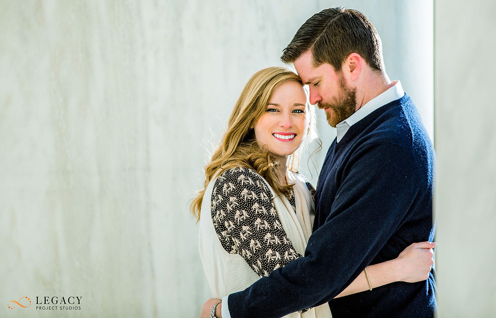 Jefferson Memorial Engagement Photos
