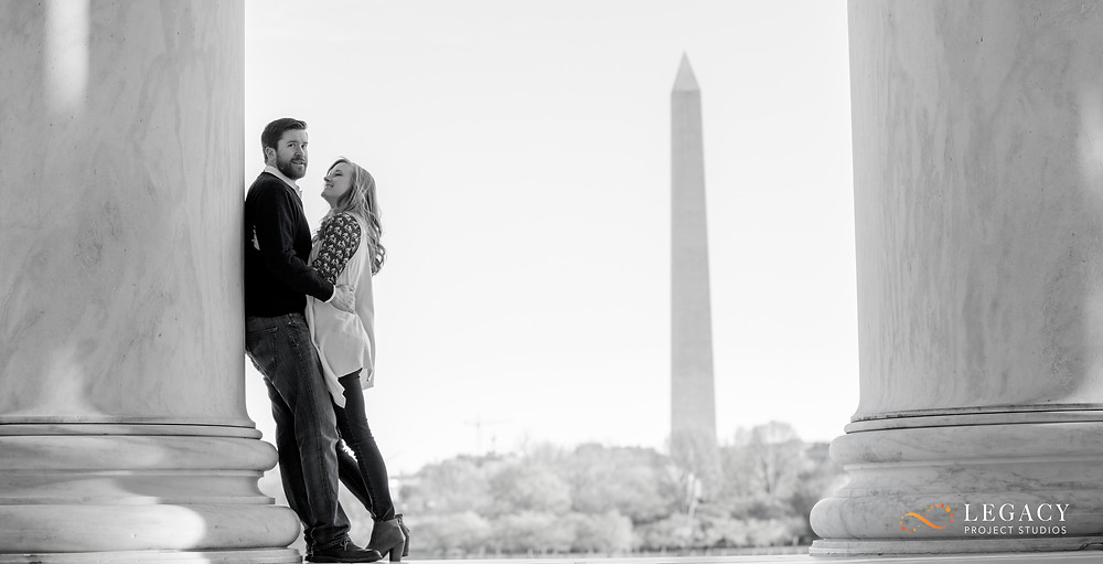Washington DC Engagement Photo