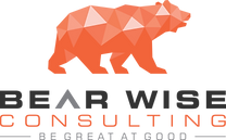 Bear Wise Consulting + tagline ( Transpa