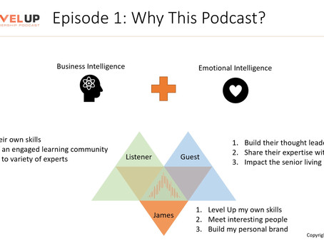 Level Up: A Leadership Podcast - Episode 1 - Why This Podcast?
