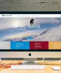 web stránka pre Pilgrim Ski Academy