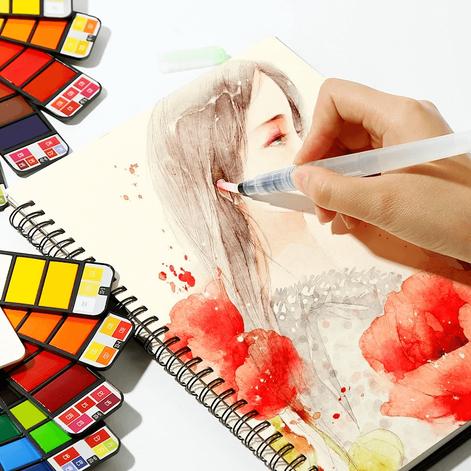 Watercolor Portátil, você já ouviu falar em aquarela de bolso?