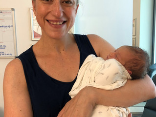 Tana, first time mum, positive drug free birth