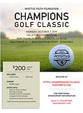 2019 IYF Champions Golf Classic Sponsors