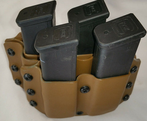Glock.40/9mm Quad Magazine Pouch