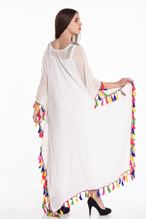 2fa2b15d24c kaftan White beach dresses long kaftan dress maxi dresses Embroidered ka