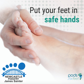 Put your feet in #SafeHands