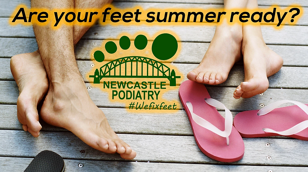 Are your feet summer ready?