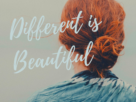 Different is beautiful…