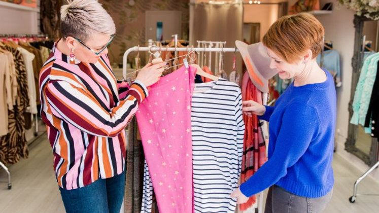Stylish Shopping – 3 hour experience (additional time may be booked)