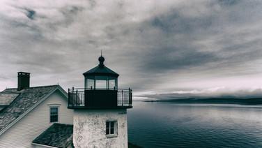 Light tower Pumpkin Island