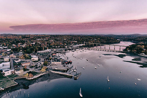 Belfast Harbor Sunrise