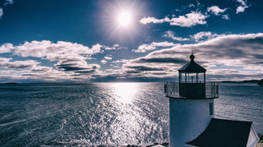 Curtis Island Light Tower