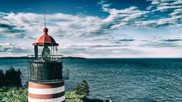 Light Tower W Quoddy Head