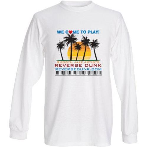 Men's White T-Shirt (Long Sleeve)