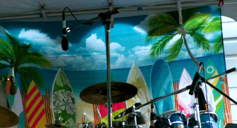 Tobago Breeze Jazz Band performs hit song, Another Star, by Stevie Wonder
