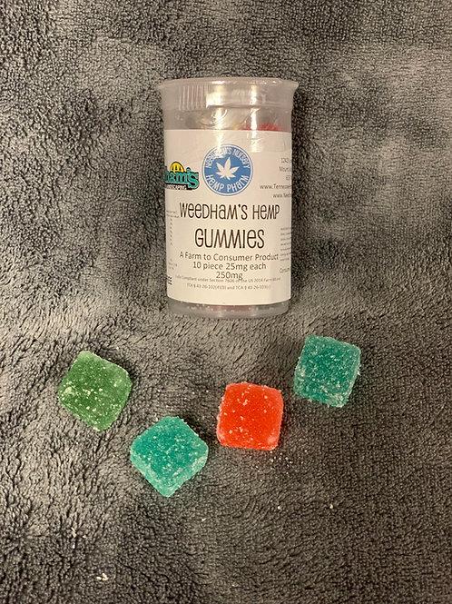 THC FREE Weedham's Hemp Gummies