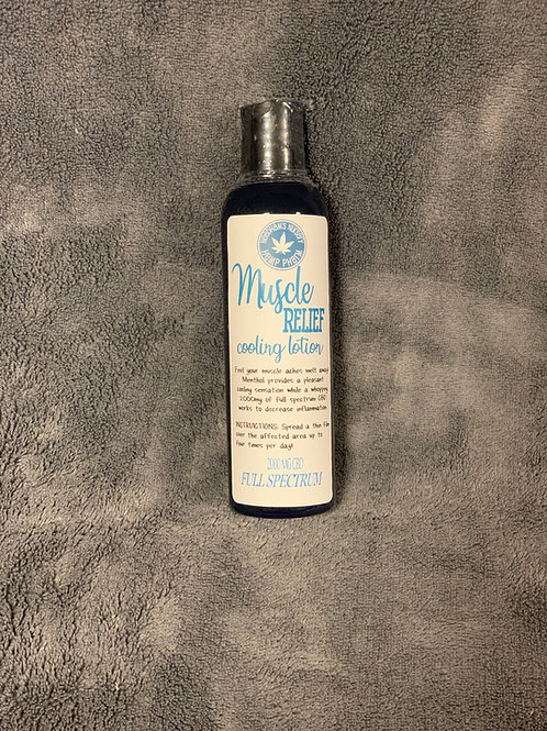 Full Spectrum Muscle Relief Cooling Lotion 2000mg