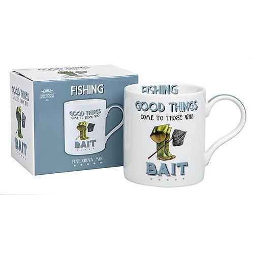 Cheeky Sport Mug Fishing