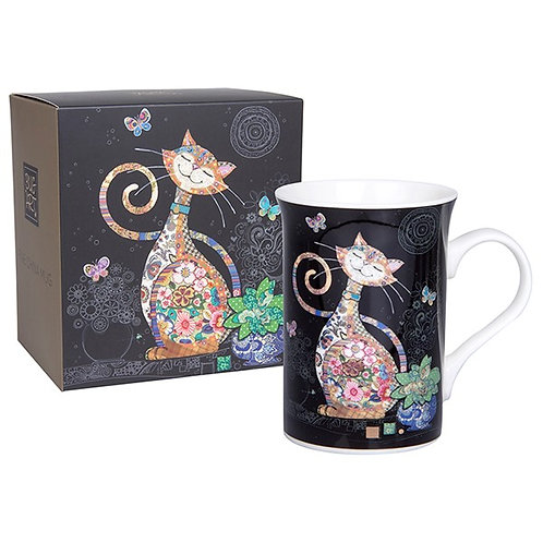Bug Art Top Cat Mug