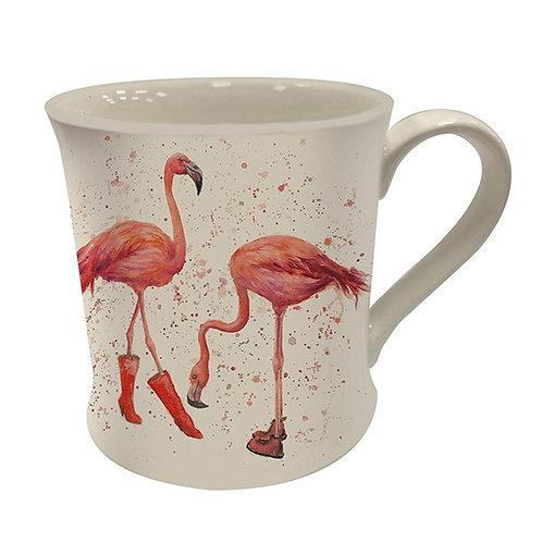Felicity and Flora Flamingo