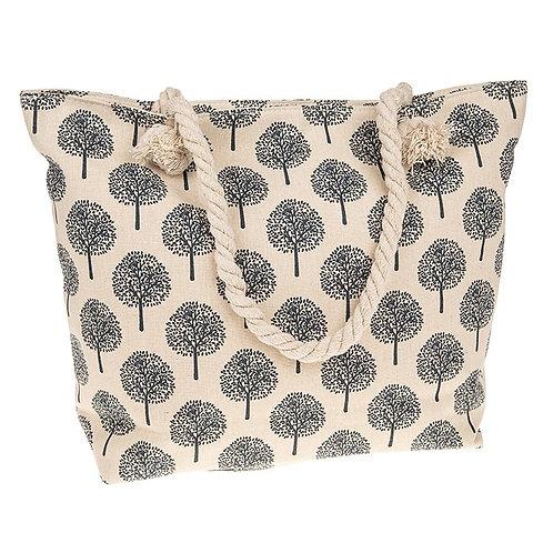 Tree Of Life Tote Bag Cream